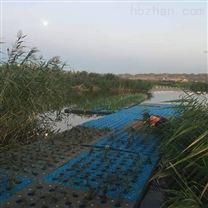 流域水体修复复合纤维湿地工程系统