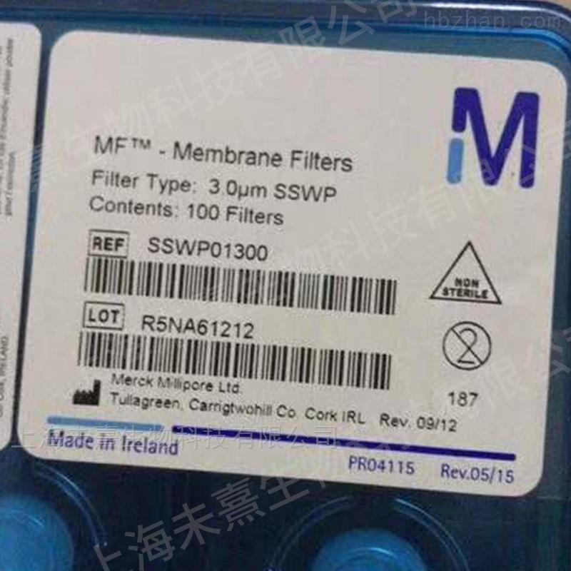 密理博MCE混合纤维素酯白色表面滤膜