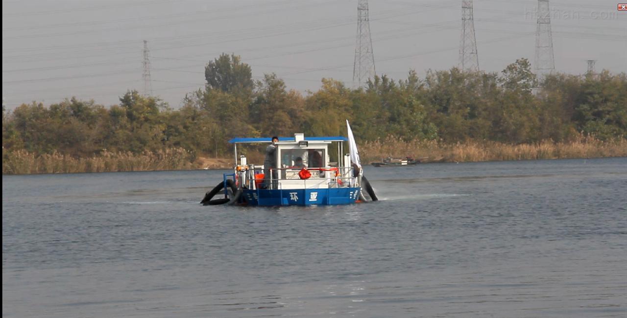 多功能环保工程船-环亚制造