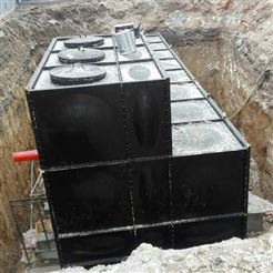10×5×3抗浮地埋式箱泵一体化增压泵站