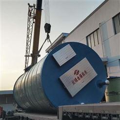 GRP玻璃钢一体化污水泵站