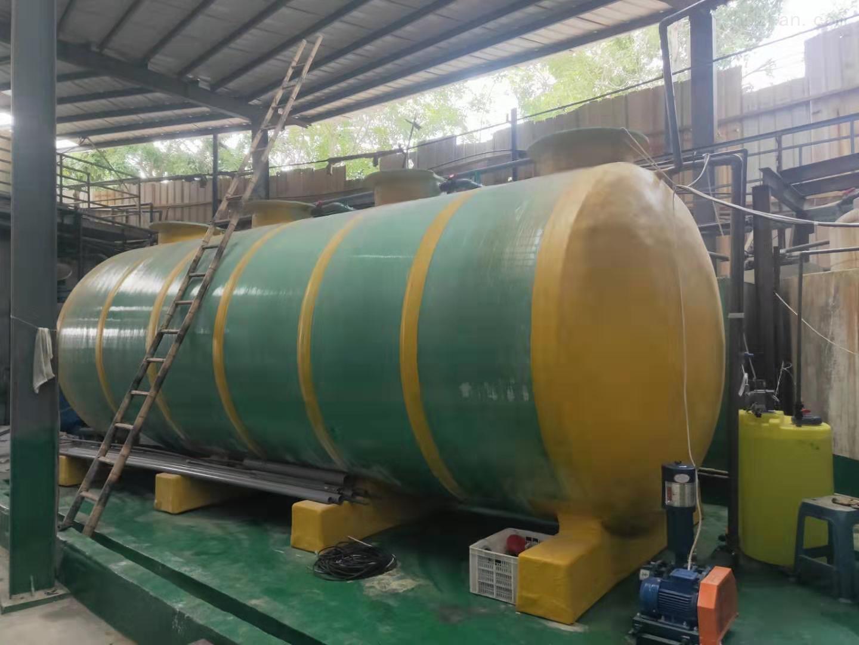 荆州布草洗涤污水处理设备安装说明