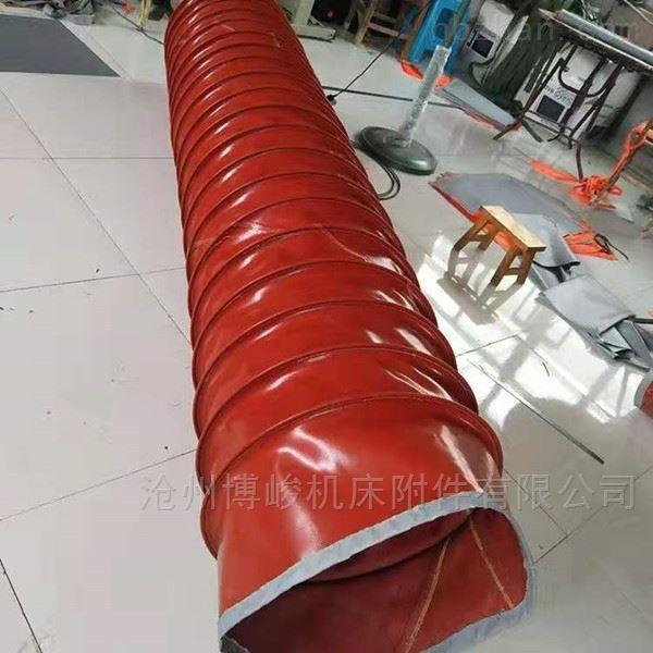 防水橡胶布颗粒输送伸缩布袋公司生产