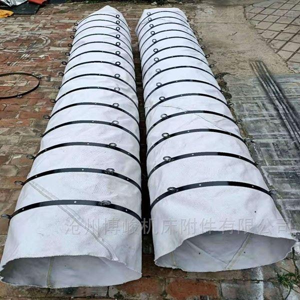 加密防漏防尘卸料伸缩布袋供应商