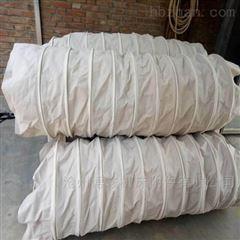 干燥機粉塵顆粒卸料收塵帆布伸縮筒生產廠家