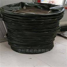 耐酸碱帆布卸灰防尘伸缩布袋生产