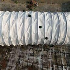 宁夏干燥机除尘耐磨帆布伸缩布袋厂家