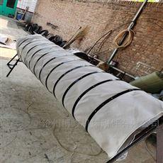 衡水面粉干燥机防尘帆布伸缩布袋