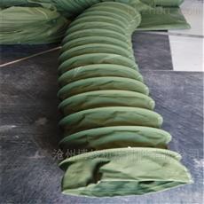 水泥卸料机用耐磨加厚帆布伸缩袋供应商