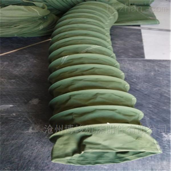 帆布耐磨水泥伸缩布袋