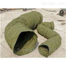 煤矿输送煤块用耐磨加厚帆布伸缩袋