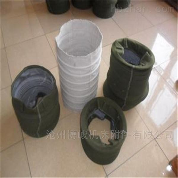 生态环保除尘帆布伸缩布袋生产