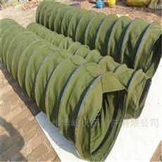粮食除尘输送帆布伸缩布袋型号齐全