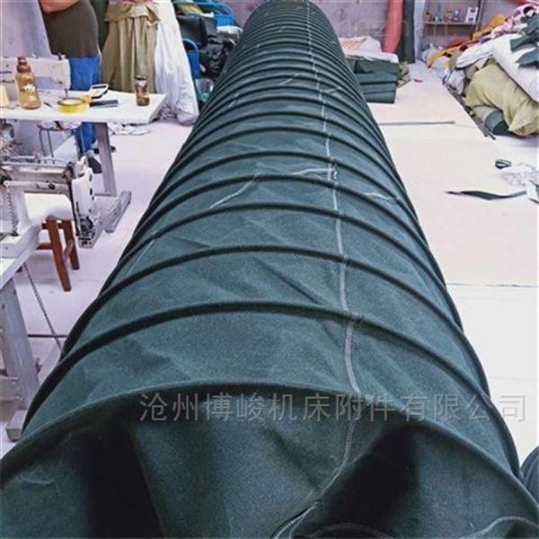 帆布防静电消防伸缩通风软连接厂家