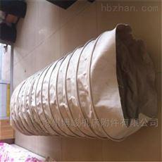 集尘卸料帆布耐磨加厚伸缩布袋厂家