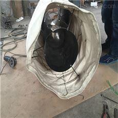 卸料耐磨除尘颗粒输送帆布伸缩布袋
