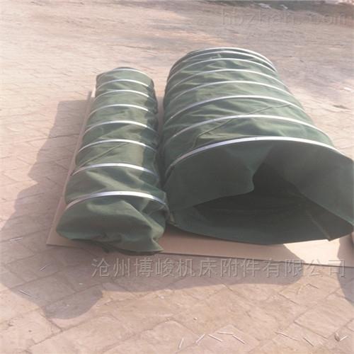 耐磨除尘粮食输送布袋生产