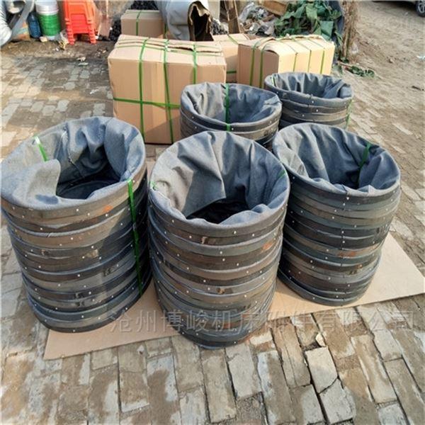 煤灰输送帆布伸缩防尘卸料布袋生产厂家