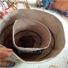 水泥搅拌机下料防尘帆布伸缩布袋报价
