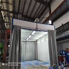 宣城侧吸式地吸式喷漆房VOC处理设备厂家