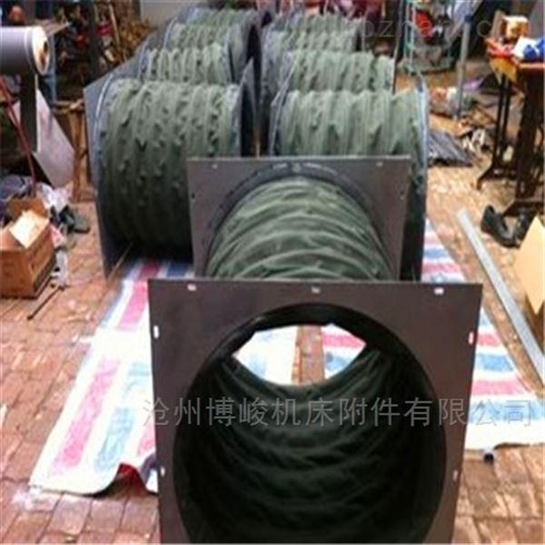 耐磨通风防腐蚀帆布软连接厂家