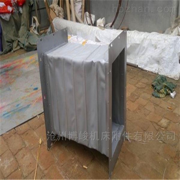 博峻机床生产不锈钢法兰风道帆布软连接