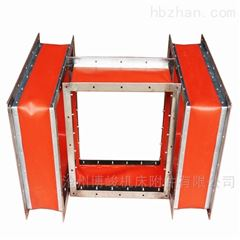 紅色硅膠布防火耐高溫抗壓通風軟連接廠家