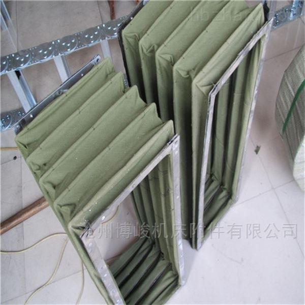 帆布方形法兰通风软连接生产