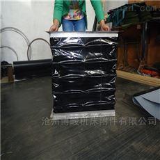 莱芜高温橡胶布通风软连接厂家生产