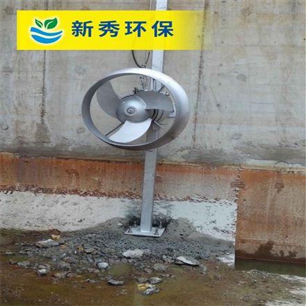潜水搅拌机安装示意图