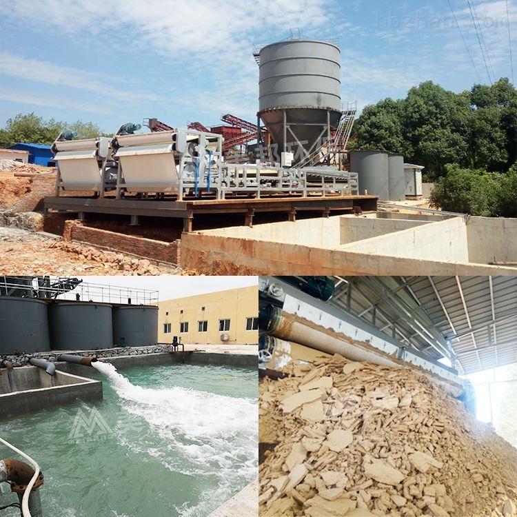 昌平石料场泥浆脱水设备运行稳定