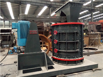 制砂机在制砂生产线中是支撑的关键性