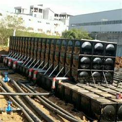 10×5×3地埋式箱泵一体化 抗浮地埋泵站