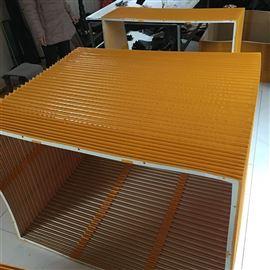 防尘布柔性方形风琴防护罩