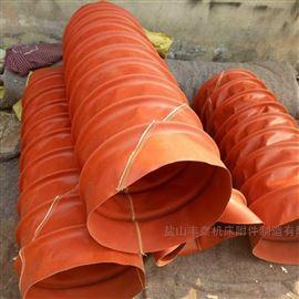 耐高温硅胶布风机软风道价格