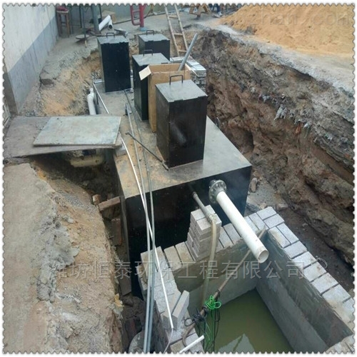 山东省地埋式污水处理设备的操作流程