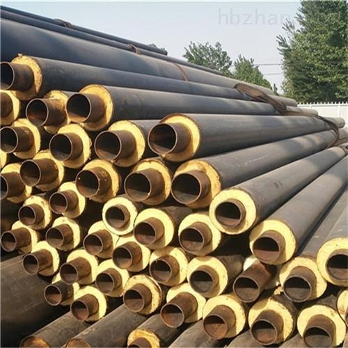 北京钢套钢直埋防腐保温管价格