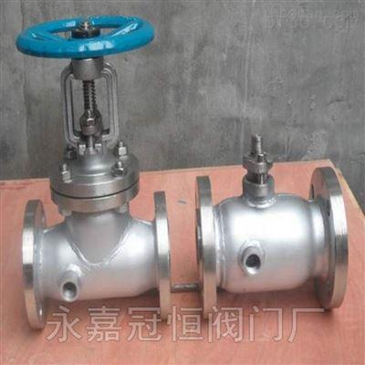 焦作DN500蒸汽导热油铸钢法兰截止阀系列