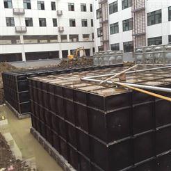 10×5×3消防抗浮式地埋箱泵一体化