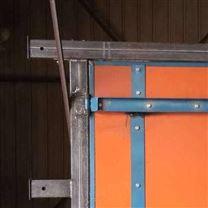 竹胶板自动风门