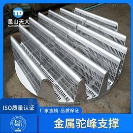不锈钢驼峰式梁型气体喷射式填料支承板