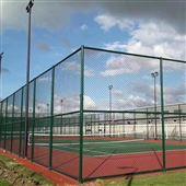 体育工程用品篮球场绿色PVC包塑围网