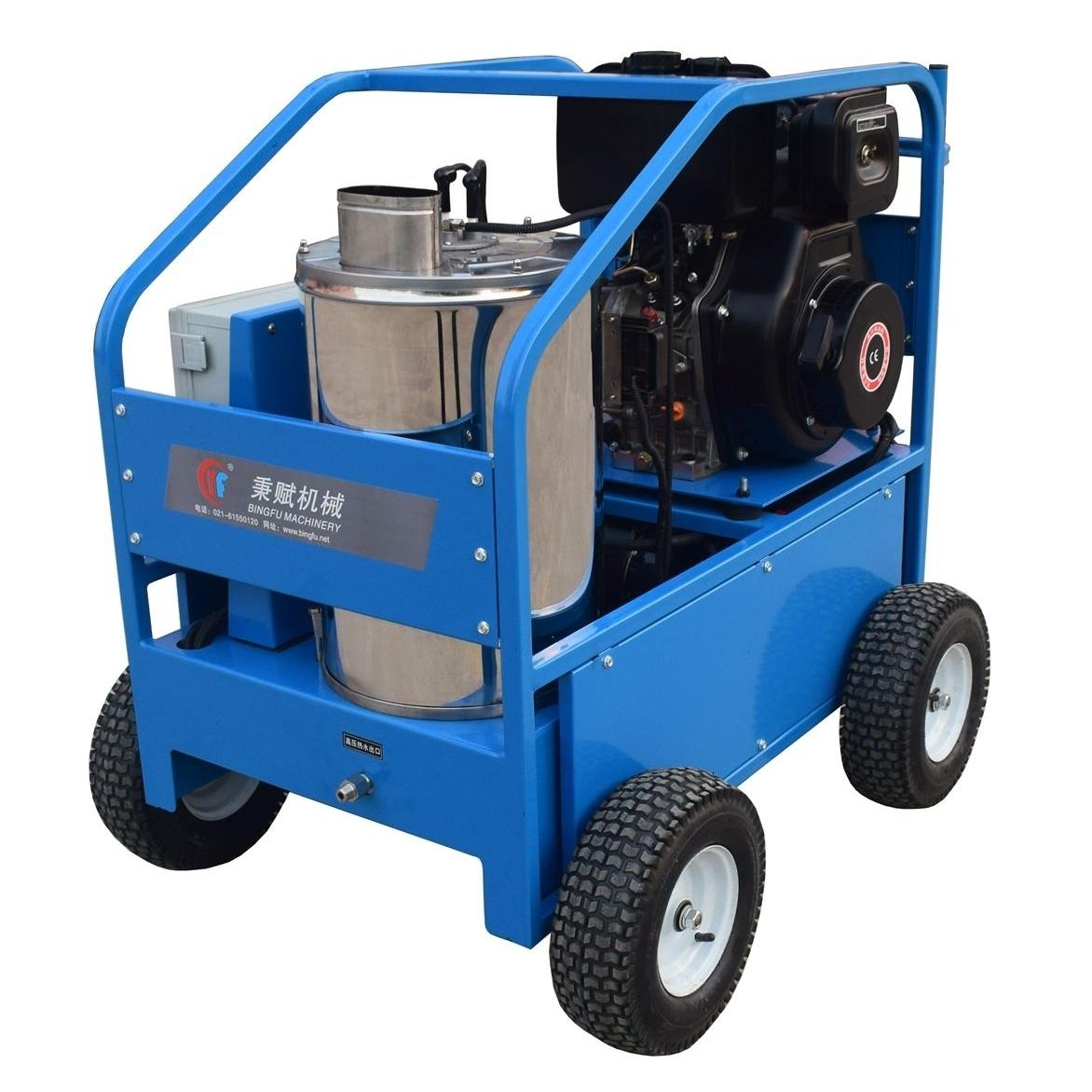 柴油引擎高压热水清洗机