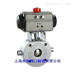 BQ641F/BQ671H氣動保溫對夾式球閥
