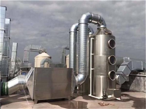 降低对废气处理设备维修成本的方法