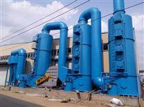 雙旋風除塵+水膜塔煙氣處理淨化裝置