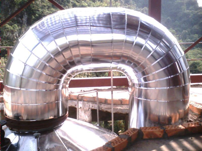...厂家 供应铁皮管道施工设备 河北富民聚氨酯发泡机械设备厂