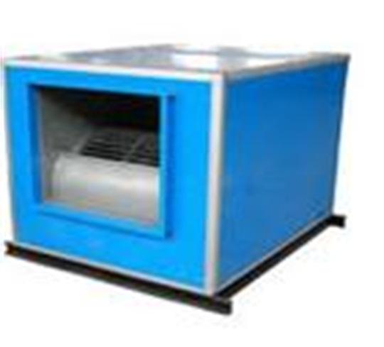 低噪声柜式离心风机 ,具有耐高温,性能优良,结构新颖紧凑,振动小,重量