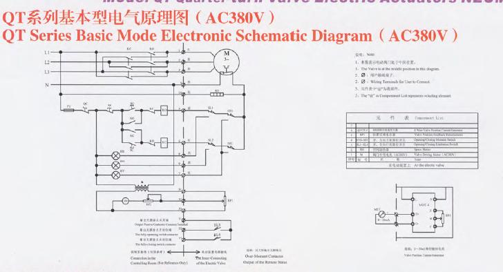 qt20-1-qt型阀门电动装置-扬州贝尔阀门控制有限公司