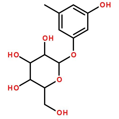 苔黑酚葡萄糖苷 分子式